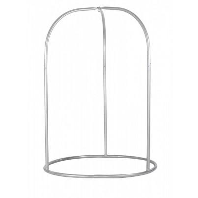 La Siesta Romano Basic Hammock Chair Stand - Silver  by La Siesta