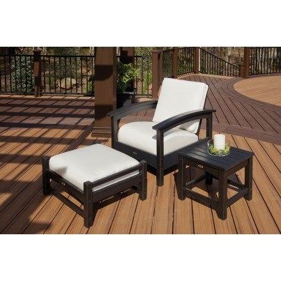 "Trex® Outdoor Furniture™ Rockport Club 18"" Side Table  by Trex Outdoor Furniture"