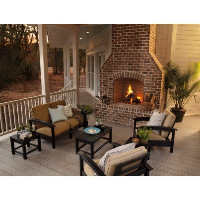 Trex® Outdoor Furniture™ Rockport Club Settee  by Trex Outdoor Furniture