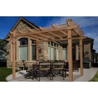 Roosevelt 12' Composite Pergola  by Frontera Furniture Company