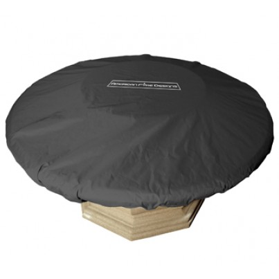 """Protective Cover for Round Contempo and Lotus Firetables and 48"""" Firebowls  by CGProducts"""