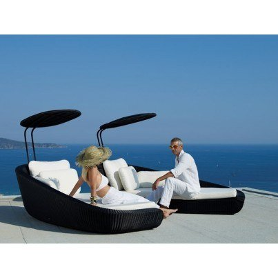 Cane-line Savannah Daybed Right Module  by Cane-line