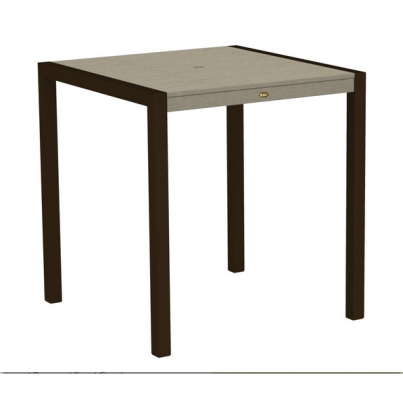 "Trex® Outdoor Furniture™ Surf City 36"" Square Counter Table  by Trex Outdoor Furniture"
