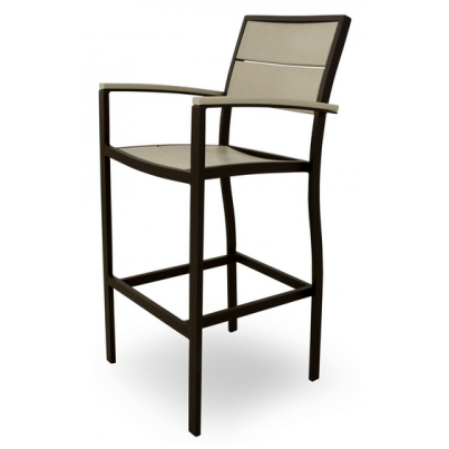 Trex® Outdoor Furniture™ Surf City Bar Arm Chair  by Trex Outdoor Furniture
