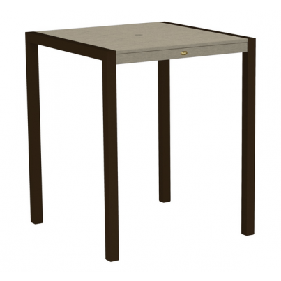 """Trex® Outdoor Furniture™ Surf City 36"""" Square Bar Table  by Trex Outdoor Furniture"""