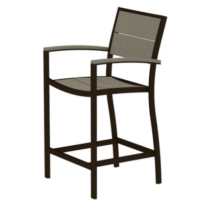 Trex® Outdoor Furniture™ Surf City Counter Arm Chair  by Trex Outdoor Furniture