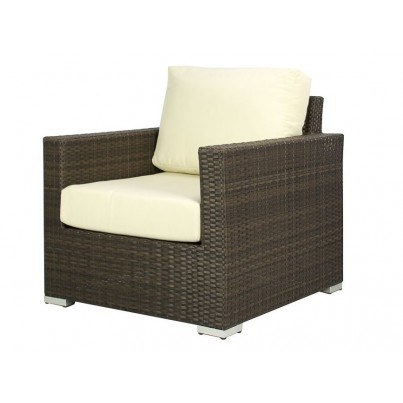 Source Outdoor Lucaya Wicker Club Chair   by Source Outdoor