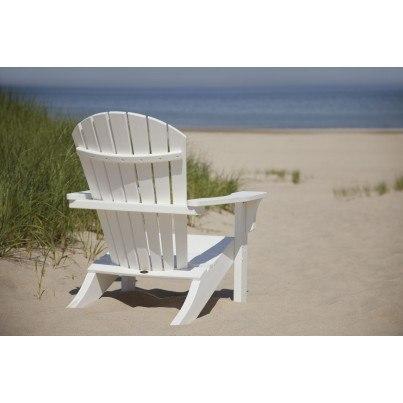POLYWOOD® Seashell Adirondack Chair  by Polywood