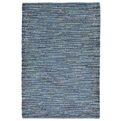 Trans-Ocean Sahara Plains Blue Rug 7'6