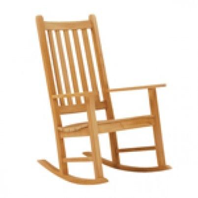 Kingsley Bate Charleston Rocker Seat Cushion  by Kingsley Bate
