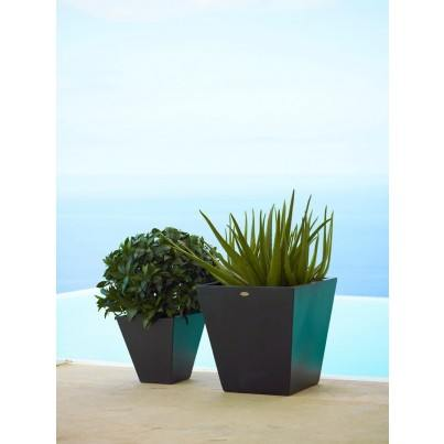Cane-line Skye Set of Planters Small & Medium  by Cane-line