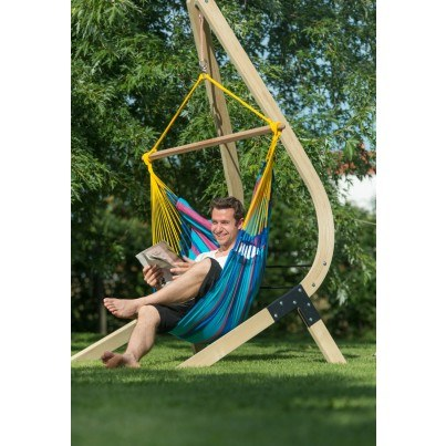 La Siesta Sonrisa Basic Hammock Chair - Wild Berry  by La Siesta