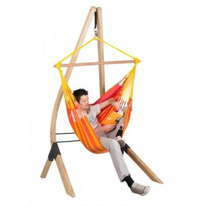 La Siesta Sonrisa Basic Hammock Chair - Mandarine  by La Siesta