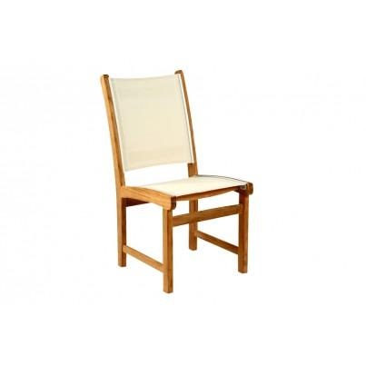 Kingsley Bate St. Tropez Teak Dining Side Chair  by Kingsley Bate