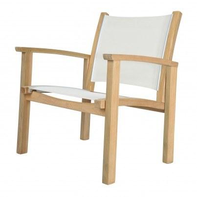 Kingsley Bate St. Tropez Teak Club Chair  by Kingsley Bate