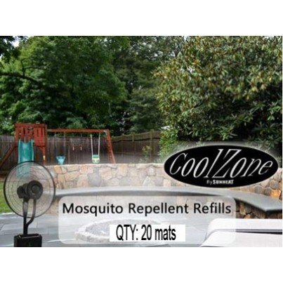 SUNHEAT Misting Fan Mosquito Mats   by SunHeat International