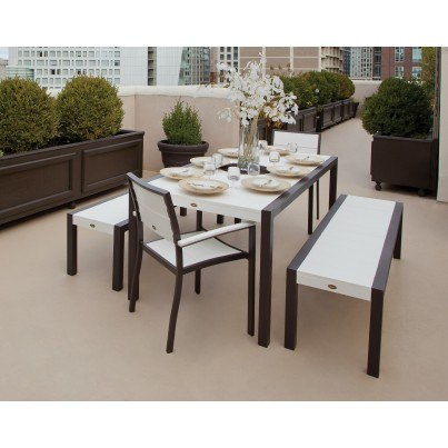 Trex® Outdoor Furniture™ Surf City Dining Collection - Build Your Own Ensemble  by Trex Outdoor Furniture