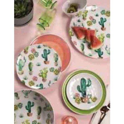 Melamine Desert Garden 12 piece Dinner Set  by Frontera Furniture Company