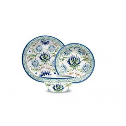 Melamine Sikandra Floral Heavy Mold 12 piece Dinner Set  by Frontera Furniture Company