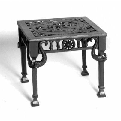Three Coins Cast Neptune Cast Aluminum Cocktail Table  by Three Coins Cast