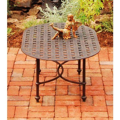 Three Coins Cast Leon Cast Aluminum Coffee Table  by Three Coins Cast