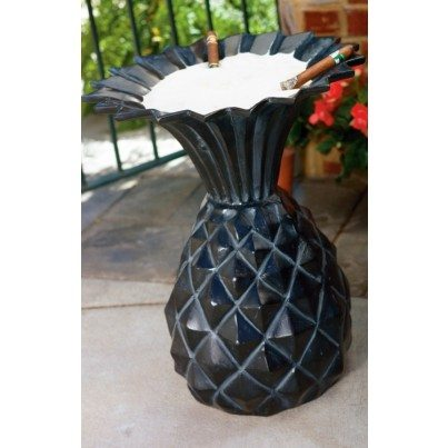 Three Coins Cast Pineapple Cast Aluminum Urn  by Three Coins Cast