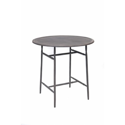Three Coins Cast Windsor Cast Aluminum Counter Bar Table  by Three Coins Cast