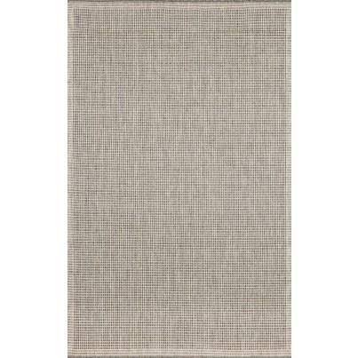Trans-Ocean Terrace Texture Silver/Ivory Rug 7'10