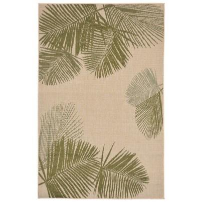 Trans-Ocean Terrace Palm Green Rug 4'10