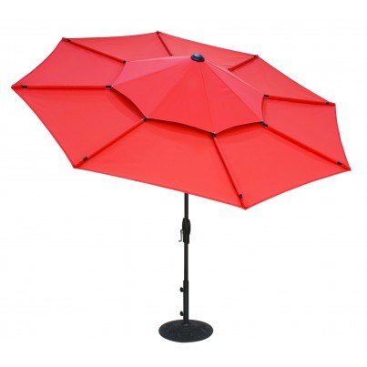 Treasure Garden 10' Lotus Umbrella  by Treasure Garden