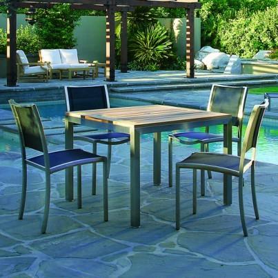 Tiburon Square Table with Tiburon Chairs