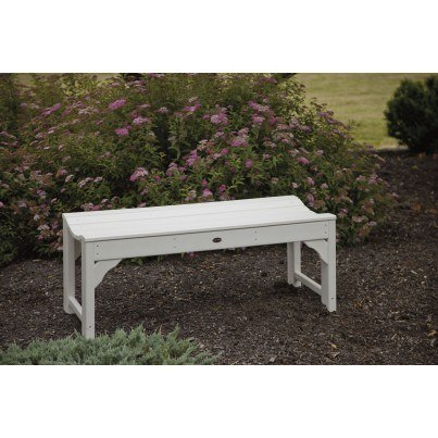 """POLYWOOD® Traditional Garden 48"""" Backless Bench  by Polywood"""