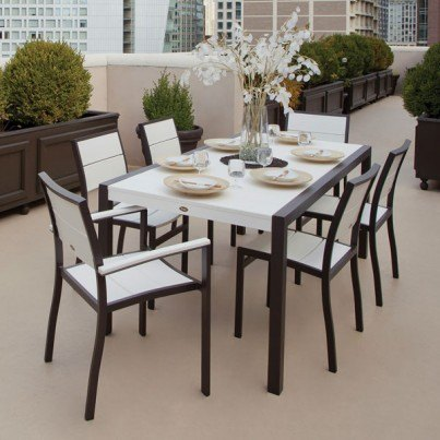 Trex® Outdoor Furniture™ Surf City 7 Piece Dining Ensemble  by Trex Outdoor Furniture