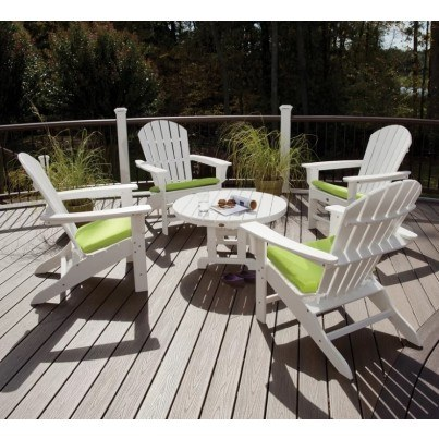Trex® Outdoor Furniture™ 5 Piece Cape Cod Seating Ensemble  by Trex Outdoor Furniture