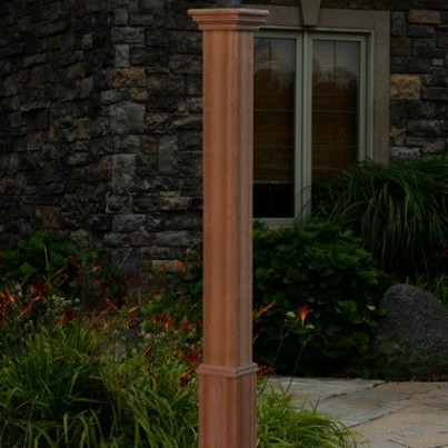 Trinity Composite Lamp Post  by Frontera Furniture Company