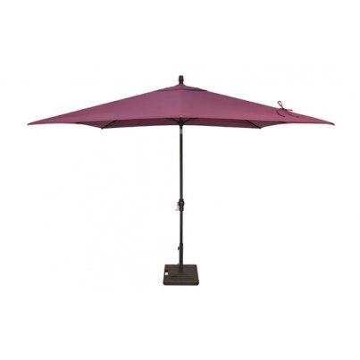 Treasure Garden 8' x 10' Rectangular Auto-Tilt Umbrella   by Treasure Garden