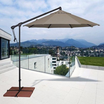 Treasure Garden 10' Octagonal Cantilever Umbrella  by Treasure Garden