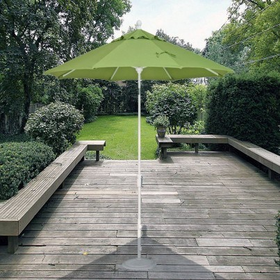 Treasure Garden 9' Push Button Tilt Center Post Umbrella  by Treasure Garden