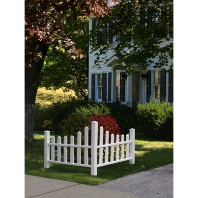 Country Corner Picket Fence   by Frontera Furniture Company