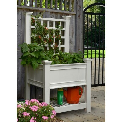 Kingsgrow Planter with Trellis  by Frontera Furniture Company