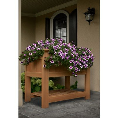 Bloomsbury Raised Composite Planter  by Frontera Furniture Company