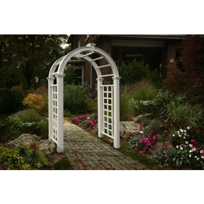 Nantucket Deluxe Arbor  by Frontera Furniture Company