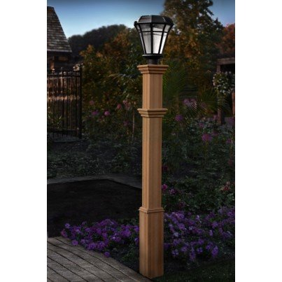 Burton Composite Lamp Post  by Frontera Furniture Company