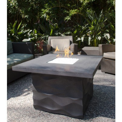 Voro Square Fire Pit Table  by CGProducts