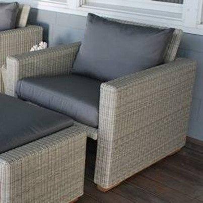 Kingsley Bate Westport Wicker Deep Seating Lounge Chair  by Kingsley Bate