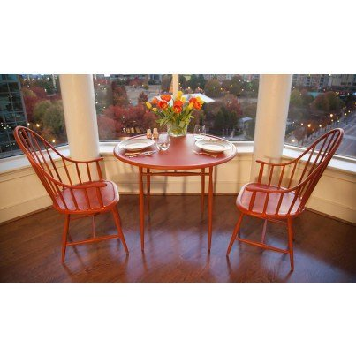 Three Coins Cast Windsor Cast Aluminum Dining Table  by Three Coins Cast