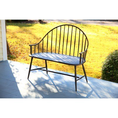 Three Coins Cast Windsor Cast Aluminum Settee  by Three Coins Cast