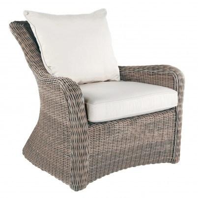 Sag Harbor Woven Deep Seating Lounge Chair