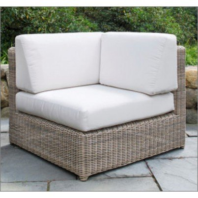Sag Harbor Woven Sectional - Corner Chair