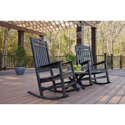 Trex® Outdoor Furniture™ Yacht Club 3 Piece Seating Ensemble  by Trex Outdoor Furniture